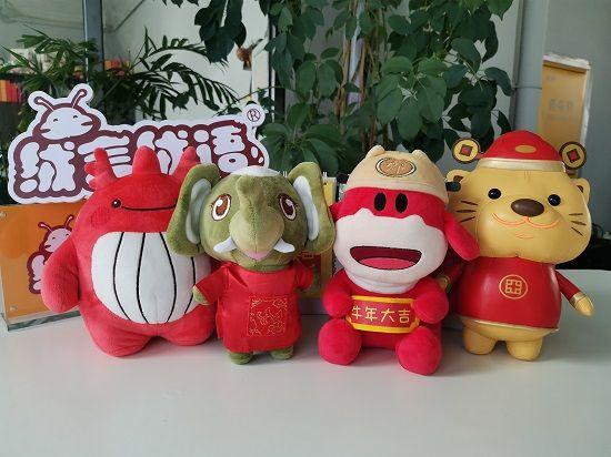 绒言绒语吉祥物学院|品牌吉祥物如何增强品牌识别度?