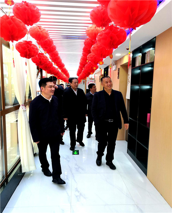 河南机电职业学院、豫宛商会领导到河南瑞阳养老集团考察交流