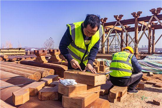觅庭木结构参与新密市溱水河湿地公园项目 重现《诗经》历史文化风貌
