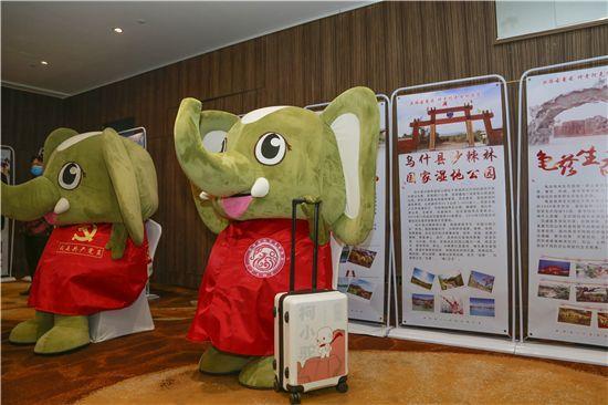 绒言绒语助力柯小驼 燃爆阿克苏文化旅游专场推介会郑州专场
