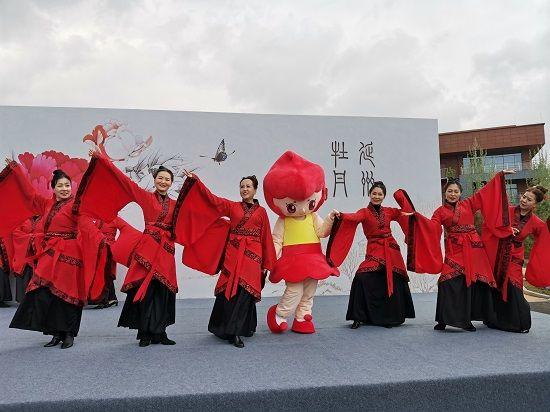 历时60天!绒言绒语完美呈现延安首届牡丹文化节吉祥物