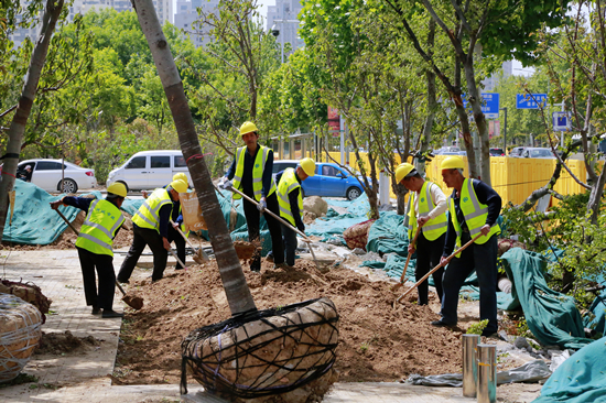 """郑州花园路升级改造 将为郑州的""""蝶变""""再添新颜"""