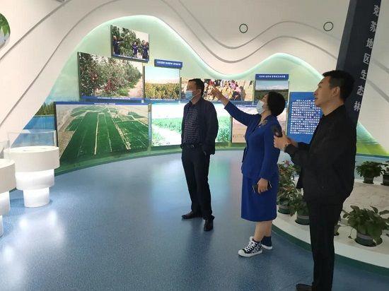 郑州绒言绒语创始人郑淑受邀走进阿克苏参观调研