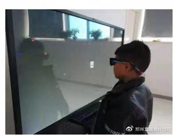 郑州童瞳眼科医院:牵牛花综合征患者的柳暗花明