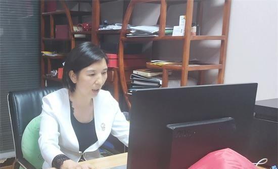 郑州童瞳眼科李景丽受邀参与爱悦国际视光教育线上直播讲座