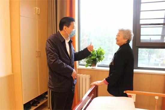 郑州市民政局、卫健委领导一行到河南瑞阳养老集团调研